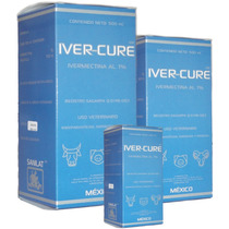 Ivermectina Inyectable - Iver-cure 1% 500 Ml.