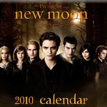 Calendarios Twilight Saga New Moon Luna Nueva 2010