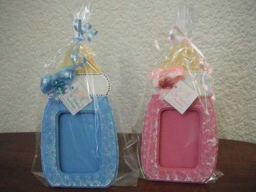 Portaretratos para baby shower en foami - Imagui