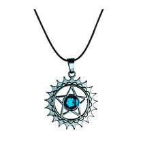 Kuroshitsuji Collar Importado Dije Pentagrama Sebastian Ciel