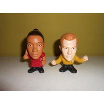 Lote 2 Figuras Star Trek De Mcdonalds Hablan