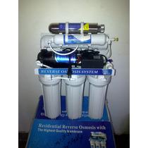 Filtro De Osmosis Inversa 6 Etapas 100g Tiene Bomba