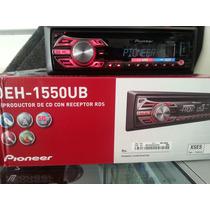 Estereo Pioneer Deh-1550ub Usb, Aux,cd. Mp3 Am .fm