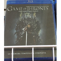 Game Of Thrones Temporada 1, Juego De Tronos, Bluray
