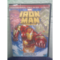 Dvd Iron Man Serie De Los 90s. 2 Caricaturas Marvel Comics