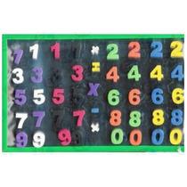 46101 Pizarra De Arte Con Números 45 Pzas 27x18 Cm Educativa