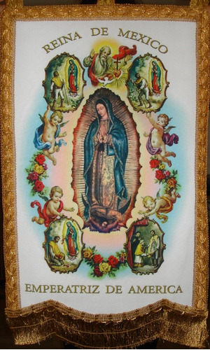 b81d6861e80 Estandarte Virgen De Guadalupe 4 Apariciones