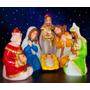 Nacimiento De Navidad Completo Con Luz Interior