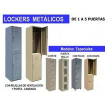 Lockers Metalicos Gabinete Alacena Malla