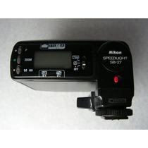 Flash Nikon Sb 27 Auto Manual Ttl Analogo Precio Fijo