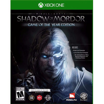 Shadow Of Mordor Game Of The Year Edition Goty Dlc´s Nuevo