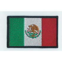 Escudo Parche Bordado Banderas De Mexico Excelente Calidad
