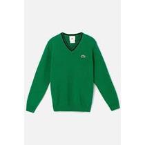 Sweater Original Color Verde Algodon Talla 10