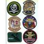 Escudos Militares Infanteria Marina Fuerza A Parches Bordado
