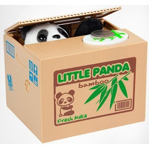 Alcancia Roba Monedas En Forma De Panda