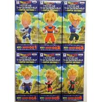 Banpresto Dragon Ball Z Set Wcf Super Saijayin Ssj Goku