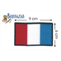 Escudo Parche Bordado Banderas De Francia