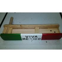 Matraca 37 Cms Juguete Madera Tipico Mexicano Porra Fans