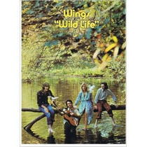 Beatles Wings Wild Life Libro De Partituras 1971