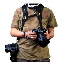 Correa Doble De Acción Rápida Sling De Hombro Nikon Y Canon