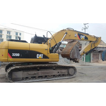 Excavadora Cat 320dl 2011 Unico Dueño 3100 Hrs