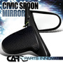 1996-2000 Honda Civic 2/3 Puertas Real Carbon Jdm Spoon Jdm