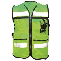 Chaleco De Seguridad Verde G Poliéster Safety Road