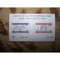 Mexico Scott # 975a Hojita Souvenir Olimpiada Mexico 68