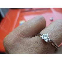 Anillo De Compromiso Certificado Diamante 26 Pts