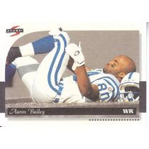1996 Score Field Force Aaron Bailey Wr Colts