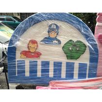 Capitán América Iron Hulk Advengers Cabecera Lagunilla