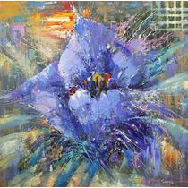 Blue Poppy - Cuadros, Pinturas Al Oleo De Dmitry Spiros