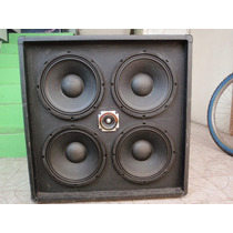 Gabinete 4x10 Y 1x18 Para Amplificador De Bajo