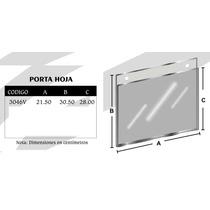 Porta Hoja Tamaño Carta Horizontal Mod3047