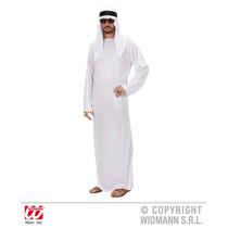 Árabe Traje - Sheik (m) (túnica Tocado) Vestido De Lujo