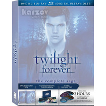 Twilight Forever The Complete Saga, Crepusculo, Blu-ray + Uv