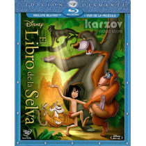 El Libro De La Selva, The Jungle Book, Disney, Blu-ray + Dvd