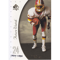 1999 Sp Authentic Rookie Champ Bailey Redskins /1999