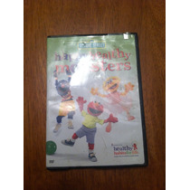 Dvd De Plaza Sesamo Happy Healthy Monsters