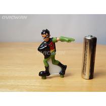 Mini Figura Robin 5.5 Cm Jóvenes Titanes Teen Titans Md23