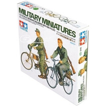 Tanque Tamiya Soldados En Bici Alem. 1/35 Revell 35240