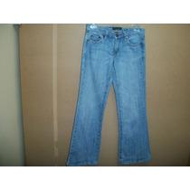 Pantalon De Mezclilla Jeans P/dama 5-30 Azul Claro