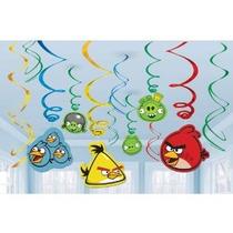 Angry Birds Colgantes Suministros Remolino Decoración Fiesta