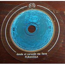 Cd Sencillo, Puravida, Donde El Corazon Me Lleve, Rm4