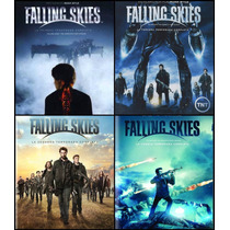 Falling Skies Paquete Temporadas 1 2 3 Y 4 Serie Blu-ray