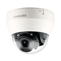 Camara Ip Samsung Tipo Domo 2mp/ Hd/ Ir D-n/ Video Analisis/