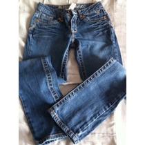 Pantalon De Mezclilla Justice Jeans