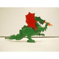 Lego 6028 Dragon Verde Usado