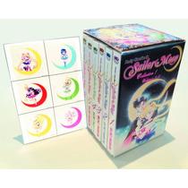 Sailor Moon Box Set (vol. 1-6) Comic Manga + Stickers!