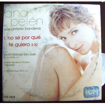 Cd Sencillo, Ana Belén, Lucio Dalla, Cancion, Canzone